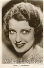act013087 - Jeanette MacDonald Actor, Actress, Movie Star, Postcard Post Card