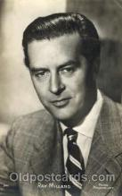 act013091 - Ray Milland Actor, Actress, Movie Star, Postcard Post Card