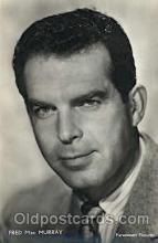 act013094 - Fred MacMurray Actor, Actress, Movie Star, Postcard Post Card