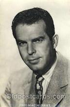 act013100 - Fred MacMurray Actor, Actress, Movie Star, Postcard Post Card
