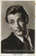 act013106 - Robert Mitchum Actor, Actress, Movie Star, Postcard Post Card