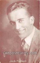 act013170 - Jack Mulhall Movie Actor / Actress, Entertainment Postcard Post Card