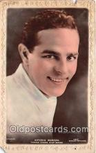 act013194 - Antonio Moreno Movie Actor / Actress, Entertainment Postcard Post Card