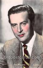 act013200 - Ray Milland Movie Actor / Actress, Entertainment Postcard Post Card