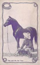 act013216 - Tom Mix & His Pal Tony Movie Actor / Actress, Entertainment Postcard Post Card