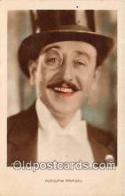 act013221 - Adolphe Menjou Movie Actor / Actress, Entertainment Postcard Post Card