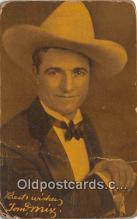 act013229 - Tom Mix Movie Actor / Actress, Entertainment Postcard Post Card