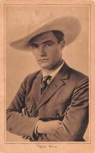 act013241 - Tom Mix Movie Star Actor Actress Film Star Postcard, Old Vintage Antique Post Card