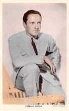 act013247 - Fredric March Movie Star Actor Actress Film Star Postcard, Old Vintage Antique Post Card