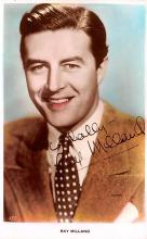 act013248 - Ray Milland Movie Star Actor Actress Film Star Postcard, Old Vintage Antique Post Card