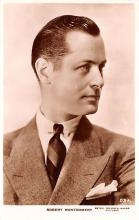 act013249 - Robert Montgomery Movie Star Actor Actress Film Star Postcard, Old Vintage Antique Post Card