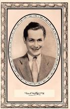 act013253 - Robert Montgomery Movie Star Actor Actress Film Star Postcard, Old Vintage Antique Post Card