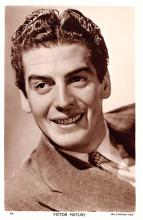 act013256 - Victor Mature Movie Star Actor Actress Film Star Postcard, Old Vintage Antique Post Card