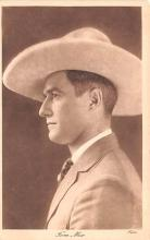 act013271 - Tom Mix Movie Star Actor Actress Film Star Postcard, Old Vintage Antique Post Card