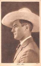 act013272 - Tom Mix Movie Star Actor Actress Film Star Postcard, Old Vintage Antique Post Card