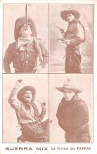 act013274 - Guerra Mix, La Terreur des Pampas Movie Star Actor Actress Film Star Postcard, Old Vintage Antique Post Card