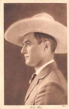 act013278 - Tom Mix Movie Star Actor Actress Film Star Postcard, Old Vintage Antique Post Card