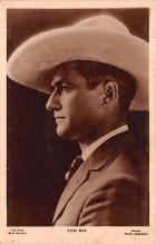act013290 - Tom Mix Movie Star Actor Actress Film Star Postcard, Old Vintage Antique Post Card