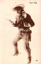 act013291 - Tom Mix Movie Star Actor Actress Film Star Postcard, Old Vintage Antique Post Card