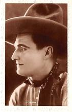 act013295 - Tom Mix Movie Star Actor Actress Film Star Postcard, Old Vintage Antique Post Card