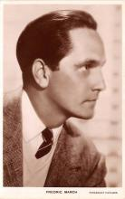 act013296 - Fredric March Movie Star Actor Actress Film Star Postcard, Old Vintage Antique Post Card