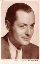 act013299 - Robert Montgomery Movie Star Actor Actress Film Star Postcard, Old Vintage Antique Post Card