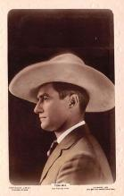act013300 - Tom Mix, Cinema Star Movie Star Actor Actress Film Star Postcard, Old Vintage Antique Post Card