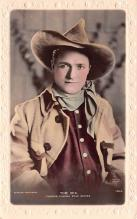 act013303 - Tom Mix, Cinema Star Movie Star Actor Actress Film Star Postcard, Old Vintage Antique Post Card