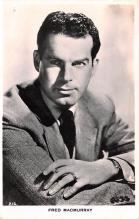act013314 - Fred MacMurray Movie Star Actor Actress Film Star Postcard, Old Vintage Antique Post Card