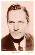act013320 - Fredric March Movie Star Actor Actress Film Star Postcard, Old Vintage Antique Post Card