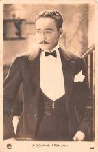 act013325 - Adolphe Menjou Movie Star Actor Actress Film Star Postcard, Old Vintage Antique Post Card