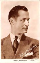 act013329 - Robert Montgomery Movie Star Actor Actress Film Star Postcard, Old Vintage Antique Post Card