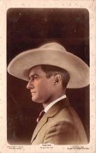act013336 - Tom Mix Movie Star Actor Actress Film Star Postcard, Old Vintage Antique Post Card