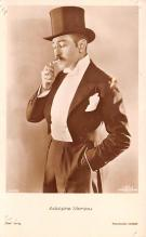 act013338 - Adolphe Menjou Movie Star Actor Actress Film Star Postcard, Old Vintage Antique Post Card