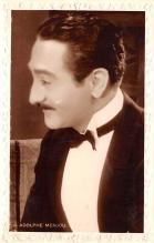 act013339 - Adolphe Menjou Movie Star Actor Actress Film Star Postcard, Old Vintage Antique Post Card