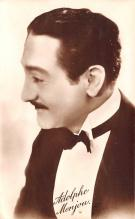 act013340 - Adolphe Menjou Movie Star Actor Actress Film Star Postcard, Old Vintage Antique Post Card