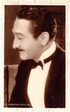 act013342 - Adolphe Menjou Movie Star Actor Actress Film Star Postcard, Old Vintage Antique Post Card