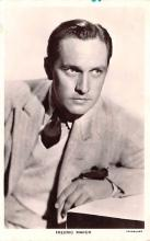 act013346 - Fredric March Movie Star Actor Actress Film Star Postcard, Old Vintage Antique Post Card