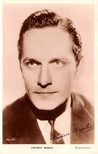 act013348 - Fredric March Movie Star Actor Actress Film Star Postcard, Old Vintage Antique Post Card
