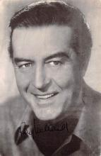 act013352 - Ray Milland, The Gunman Movie Star Actor Actress Film Star Postcard, Old Vintage Antique Post Card