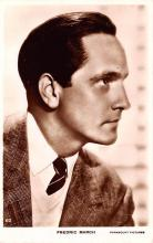 act013357 - Fredric March Movie Star Actor Actress Film Star Postcard, Old Vintage Antique Post Card