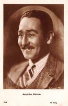 act013359 - Adolphe Menjou Movie Star Actor Actress Film Star Postcard, Old Vintage Antique Post Card