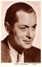 act013360 - Robert Montgomery Movie Star Actor Actress Film Star Postcard, Old Vintage Antique Post Card