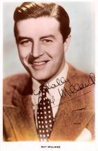 act013362 - Ray Milland Movie Star Actor Actress Film Star Postcard, Old Vintage Antique Post Card