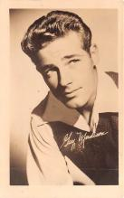 act013363 - Guy Madison Movie Star Actor Actress Film Star Postcard, Old Vintage Antique Post Card
