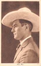 act013364 - Tom Mix Movie Star Actor Actress Film Star Postcard, Old Vintage Antique Post Card