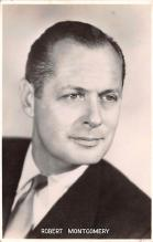 act013376 - Robert Montgomery Movie Star Actor Actress Film Star Postcard, Old Vintage Antique Post Card