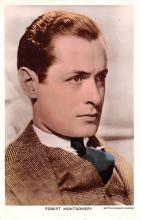 act013377 - Robert Montgomery Movie Star Actor Actress Film Star Postcard, Old Vintage Antique Post Card