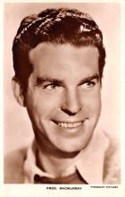 act013380 - Fred MacMurray Movie Star Actor Actress Film Star Postcard, Old Vintage Antique Post Card