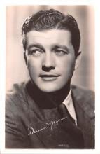 act013383 - Dennis Morgan Movie Star Actor Actress Film Star Postcard, Old Vintage Antique Post Card